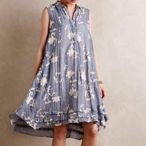 Anthropologie Isabella Sinclair Floral Dress in L